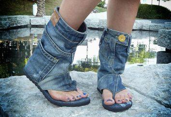 Denim botas de verano: qué ponerse?