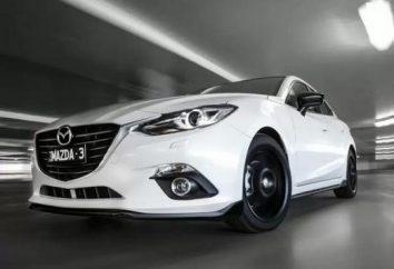 """Nowy """"Mazda 3"""" (sedan): recenzje, opisy, test drive. Jak zrobić strojenia Mazda 3"""