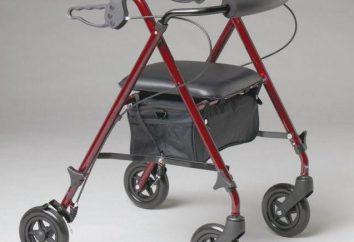 Chodziki dla osób niepełnosprawnych i osób starszych: rodzaje, opis, reguły wyboru