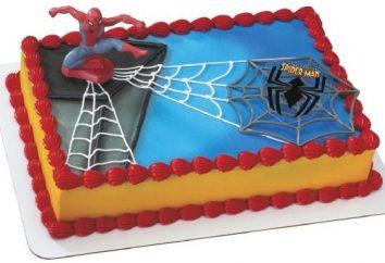 """""""Spider-Man"""" – um bolo para super-heróis!"""