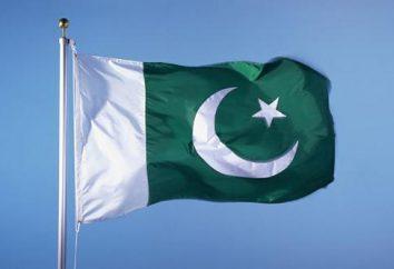 Nowoczesna flaga Pakistanu, protokół jej użycia i podobne flagi