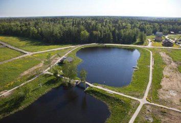 spiaggia di Bear Lake. Schelkovo, regione di Mosca
