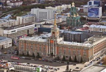zona Ekaterinburg: Storia