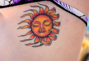 Come ha il significato di un tatuaggio del sole?