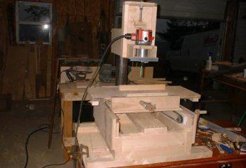 Klucz maszyny do cięcia drewna z rękami