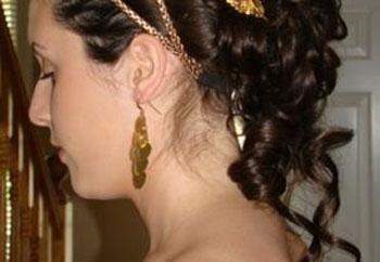 Penteados com vestir longos cabelos grega, ou como se tornar uma deusa