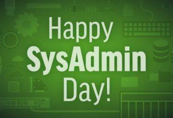 O que um feriado do Dia do Administrador do Sistema?