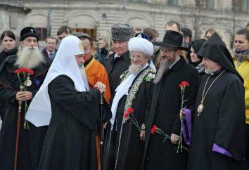 Co wakacje w listopadzie w Rosji. Publiczne i religijne święta w listopadzie