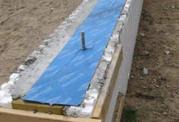 impermeabilização horizontal da fundação: características, comentários, tecnologia de instalação