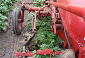 Hilling ziemniaki jednoosiowe – oszczędność czasu i wysiłku
