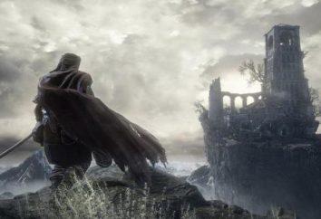 Il tempio nella profondità del Dark Souls 3: il passaggio di posizioni