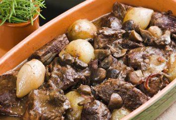 Französisch Gericht: Fleisch Burgund