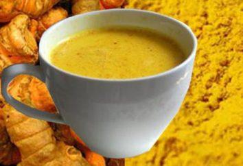 Złoty mleko z kurkumy: przeciwwskazania, opinie i usługi