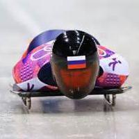 Skeletonist Alexander Tretyakov. Foto. Ehrungen