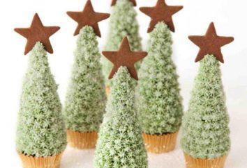 gâteau de Noël « herringbone »: recette maison. Décorations de Noël gâteau