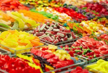 A composição do doce de fruta. O que faz marmelada