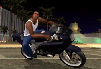 Moda per GTA San Andreas sulla macchina, parkour o armi. Installazione di mod per GTA San Andreas