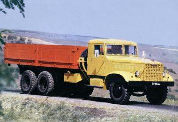 KrAZ-219: l'histoire, les caractéristiques physiques,