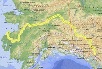 Río Yukón en América del Norte: una foto, una descripción de