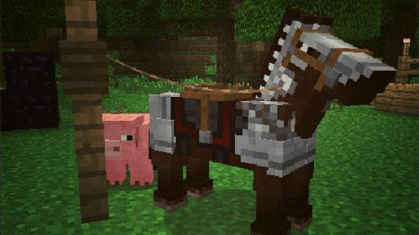 pferd zähmen minecraft