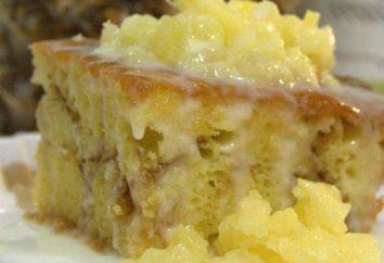 torta di ananas miele (dolce) foto ricetta
