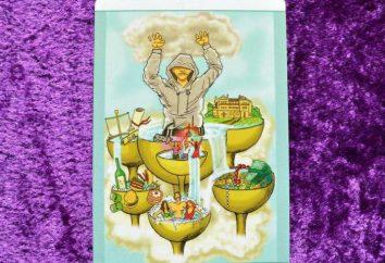 Sept Coupes: signification des cartes dans le Tarot