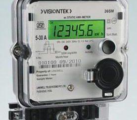 Medidor da energia monofásica: comentários de preços