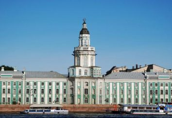 Was sind das erste Museum geöffnet von Peter dem Großen? Schätze Kunstkamery
