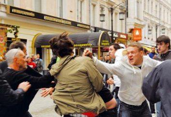 O artigo 213 do Código Penal. Hooliganismo. código penal