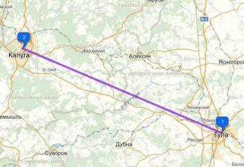 Route Kaluga-Tula: planejando a viagem com sabedoria