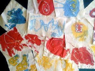 Pintura em tecido. Em casa, atualizar suas coisas