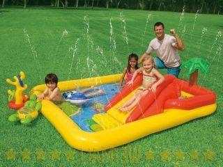 piscine pour enfants avec toboggans – la meilleure version de vacances en famille!