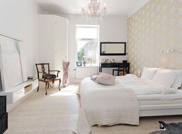 Herstellung Schlafzimmer im skandinavischen Stil