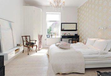 Haciendo dormitorios en un estilo escandinavo