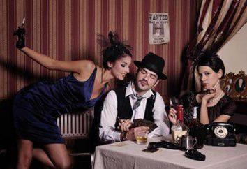mafioso: descripción. Trajes, vestidos y peinados