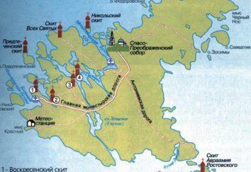 Barche sul Valaam. Balaam: carta. Crociera a Valaam