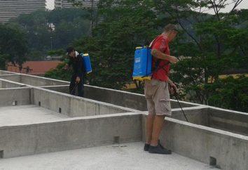 Przenikliwy hydroizolacji betonu. Dodatek do uszczelniania w betonie