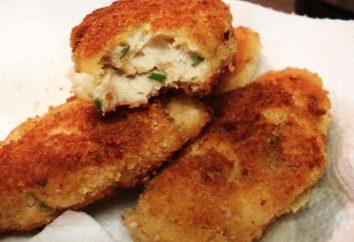 Cuisine escalopes de poitrines de poulet