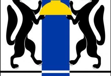 Wappen von Novosibirsk Oblast. Beschreibung und Symbolik