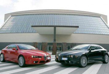 Vue d'ensemble Alfa Romeo Brera: accélération à 100 km / h, les variations de moteur
