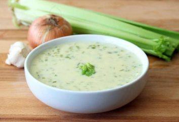 Zuppa di gambo di sedano: ricette