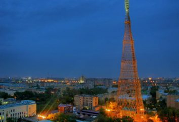 Shukhov Torre a Mosca, indirizzo, altezza, foto