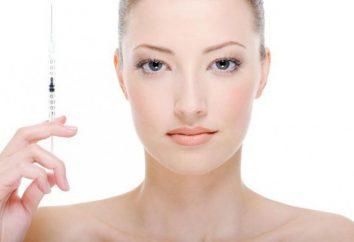Iniezioni al viso. Prodotti popolari per il ringiovanimento del viso