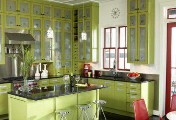cuisine vert clair – printemps dans votre maison