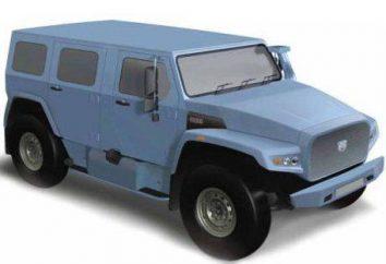 """""""Wilk"""" samochód. Opancerzony samochód dla rosyjskiej armii. wersja cywilna"""
