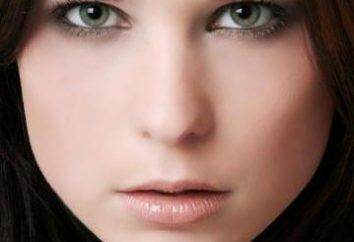 Maquillaje para ojos verde-gris de las celebridades
