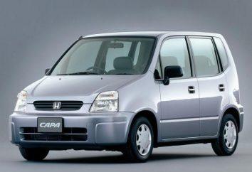 """""""Honda Capa"""": opis i charakterystyka japońskiego pojemny minivan"""