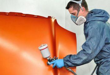 Pomalować samochód transferu z rękami: technologicznych, kolory