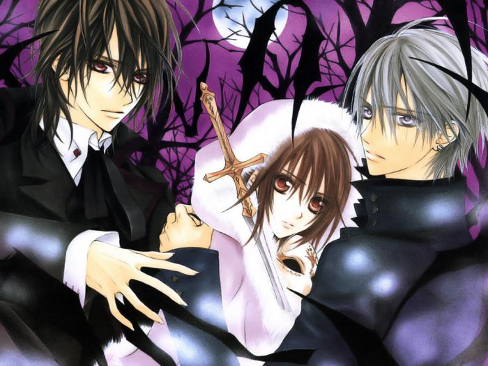 Elenco di anime vampiro. cartoni animati anime sui vampiri amore