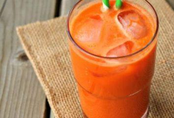 La calabaza y el jugo de zanahoria para el invierno: Receta